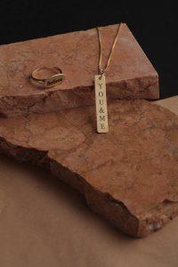 תליון זהב עם שם - התליון שעושה כל שרשרת למיוחדת