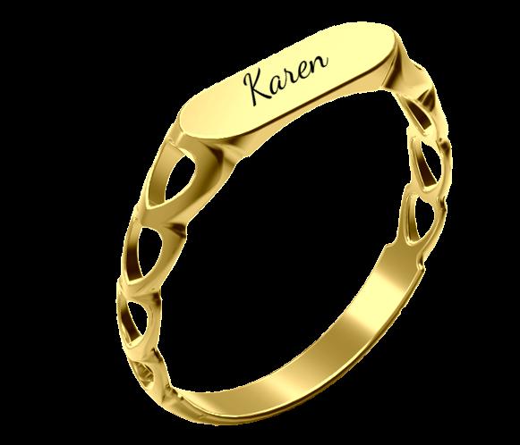 טבעת חריטה